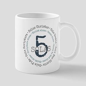 5 Solas Reformed Theology Mugs