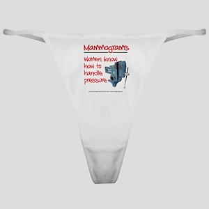 Mammograms Classic Thong