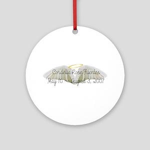 Cordelia Ornament (Round)