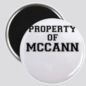 Property of MCCANN Magnets