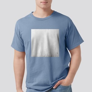 shabby chic white stripe T-Shirt