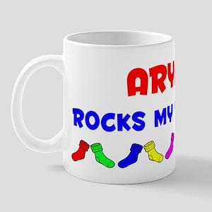 Aryana Rocks Socks (A) Mug