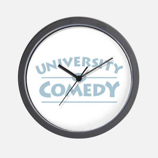 University of Comedy Wall Clock