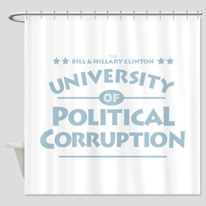 Corruption Shower Curtain