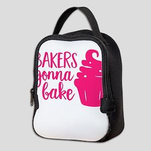 BAKERS GONNA BAKE Neoprene Lunch Bag