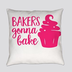 BAKERS GONNA BAKE Everyday Pillow