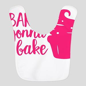 BAKERS GONNA BAKE Polyester Baby Bib