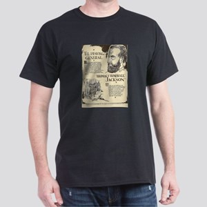 Stonewall Jackson Mini Biography T-Shirt