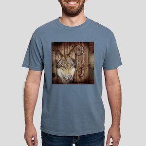 vintage Americana wild wolf T-Shirt