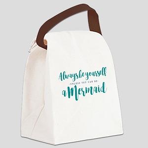 ALWAYS BE A MERMAID Canvas Lunch Bag