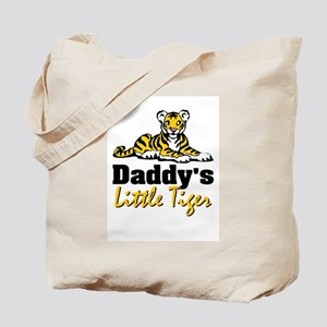 Daddy's Little Tiger II Tote Bag