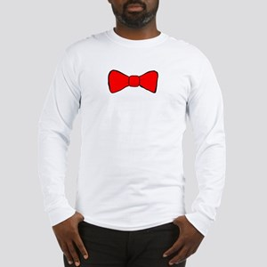 Bow Tie Long Sleeve T-Shirt