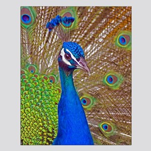 Peacock 1514 Small Poster
