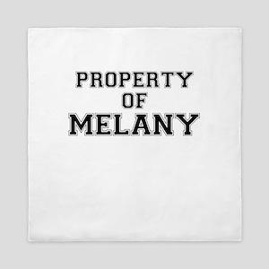 Property of MELANY Queen Duvet