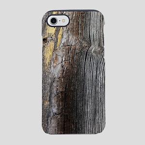 primitive grey tree bark iPhone 8/7 Tough Case