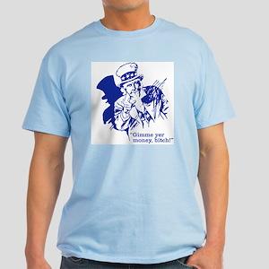 Taxes Are Voluntary Light T-Shirt