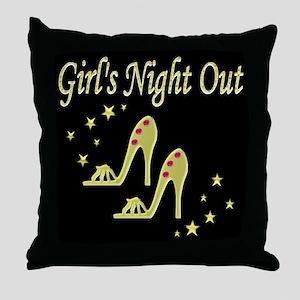 GIRLS NIGHT OUT Throw Pillow