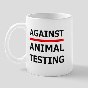 Against Testing by Leah Mug