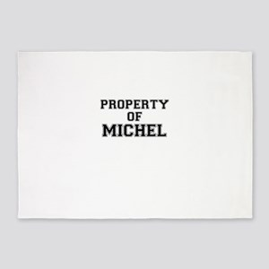 Property of MICHEL 5'x7'Area Rug