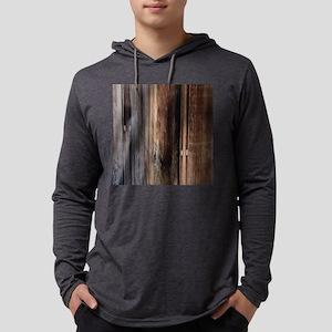 western country barn board Long Sleeve T-Shirt