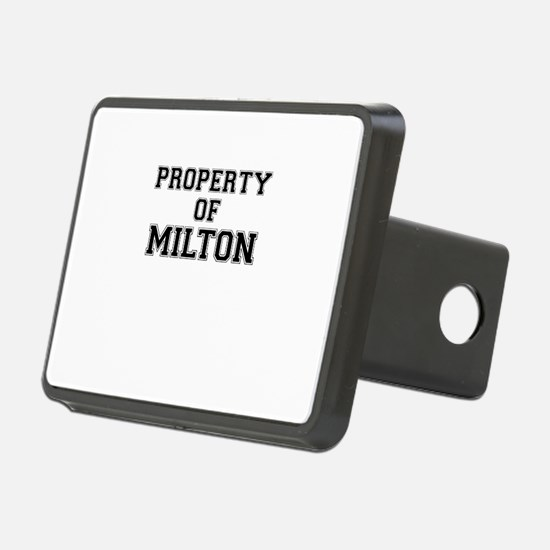 Property of MILTON Hitch Cover