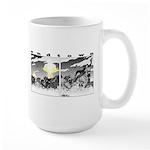 Endtown: Charge! Large Mug Mugs