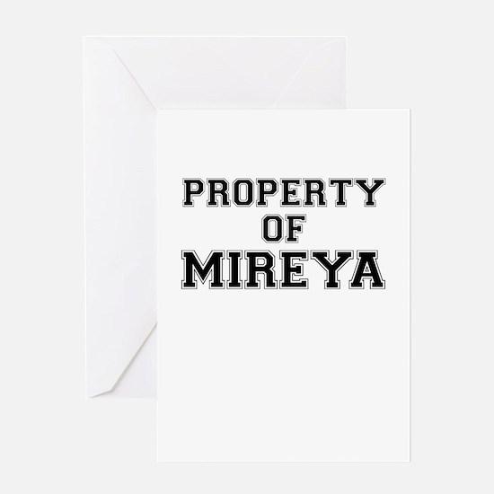 Property of MIREYA Greeting Cards