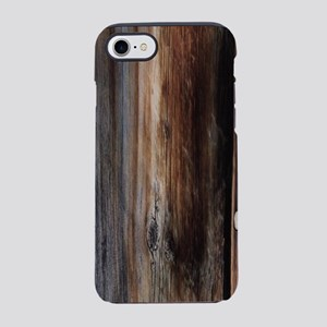 western country wood grain iPhone 8/7 Tough Case