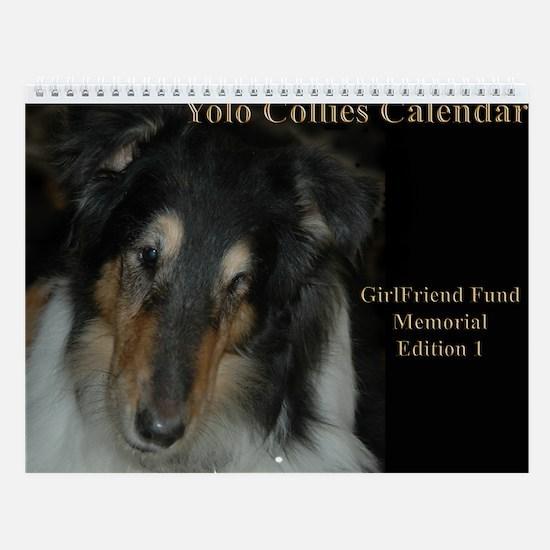 Yolo Collies Special Memorial Calendar