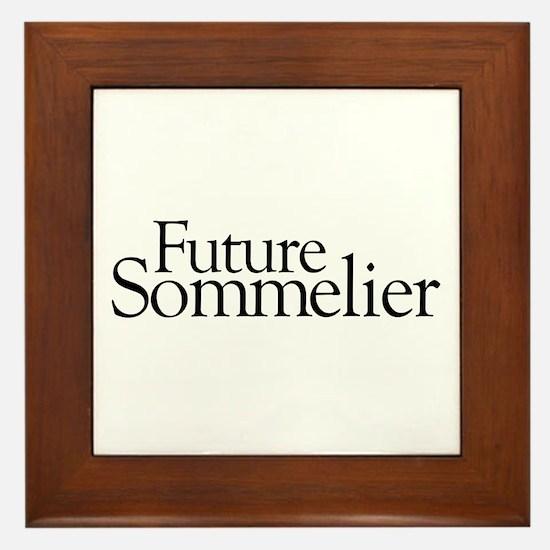 Future Sommelier Framed Tile