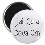 Jai Guru Deva Om Magnet