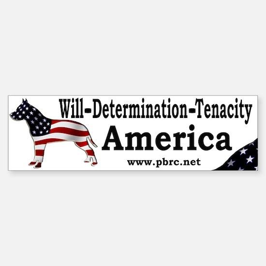 America Bumper Bumper Bumper Sticker