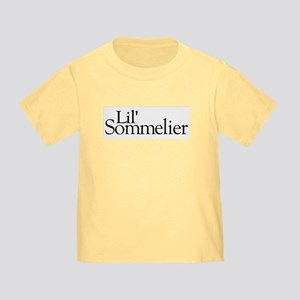 Lil' Sommelier Toddler T-Shirt