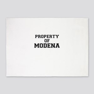 Property of MODENA 5'x7'Area Rug
