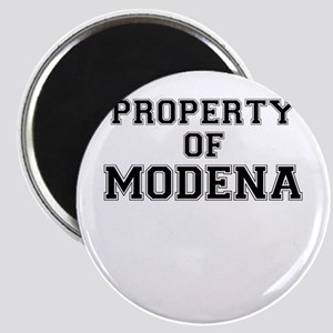 Property of MODENA Magnets