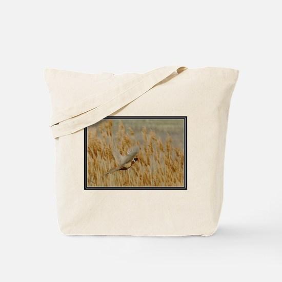 Pheasant Flight  Tote Bag