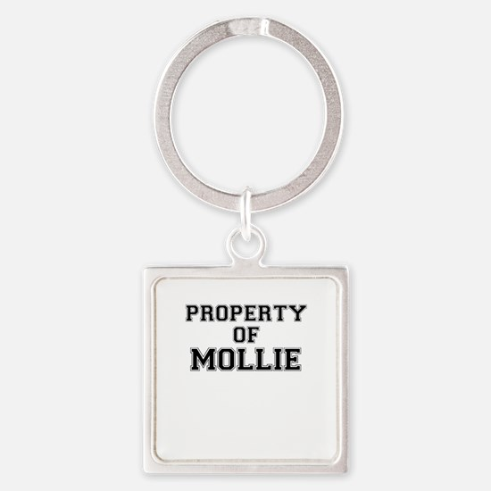 Property of MOLLIE Keychains