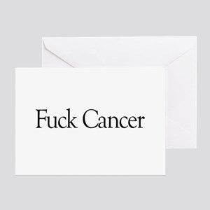 Fuck Cancer Greeting Card