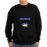 Hockey mom Sweatshirt (dark)