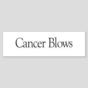 Cancer Blows Bumper Sticker