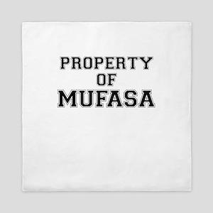 Property of MUFASA Queen Duvet