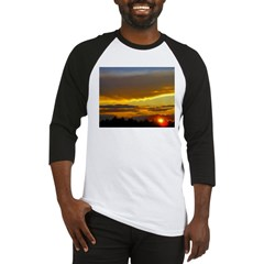 Sunset Sky Baseball Jersey