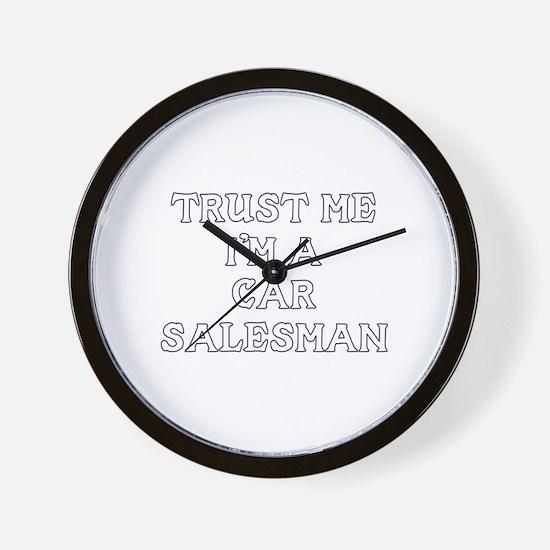 Trust Me I'm A Car Salesman Wall Clock