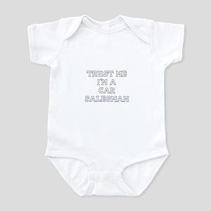Trust Me I'm A Car Salesman Infant Bodysuit