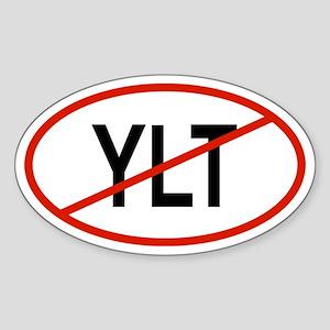 YLT Oval Sticker