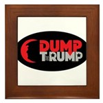 Dump Therump Framed Tile