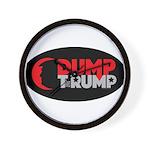 DUMP TheRUMP Wall Clock
