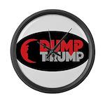 DUMP TheRUMP Large Wall Clock