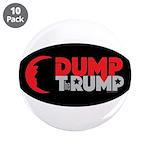 "Dump Therump 3.5"" Button (10 Pack)"
