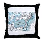 Lake Pennsylvania Throw Pillow